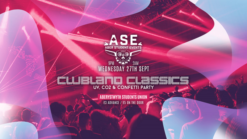 Clubland Classics - UV, CO2 & Confetti Party!
